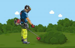 Ein-Euro-Jobs in der Landschaftspflege