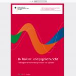 16. Kinder- und Jugendbericht: Politische Bildung weiterentwickeln und Jugendlichen mehr Mitsprache ermöglichen